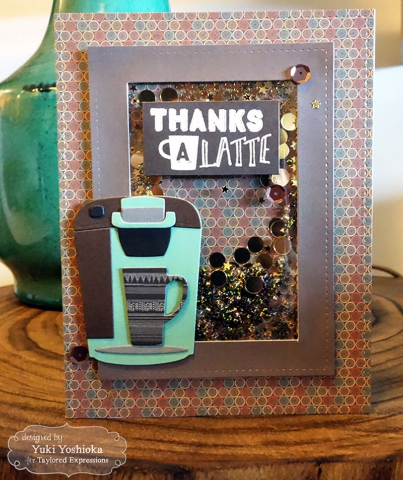 Share Joy Challenge #40 - Thanks A Latte by Handmade by Yuki   Koffee Time by Taylored Expressions