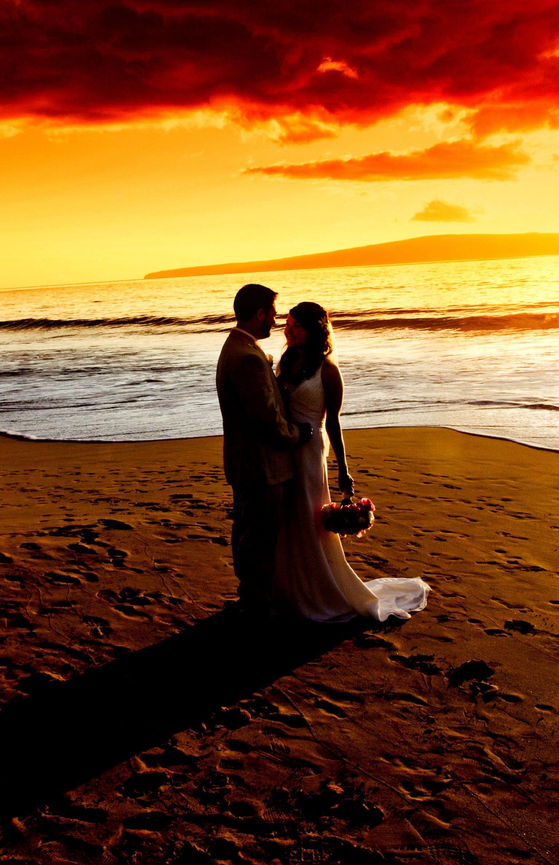 AliciaTyler2 Sunset beach weddings, Beach wedding