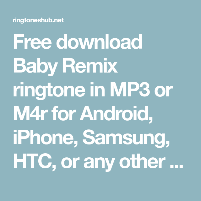 new remix ringtone download