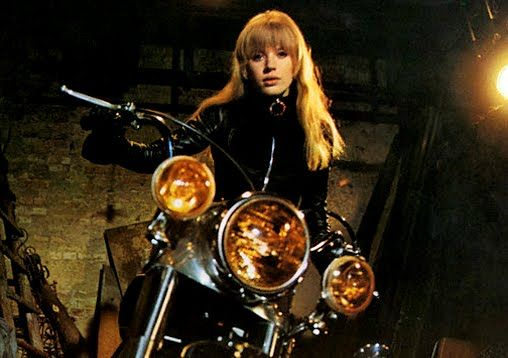 In-Vested: Girl on a Motorcycle