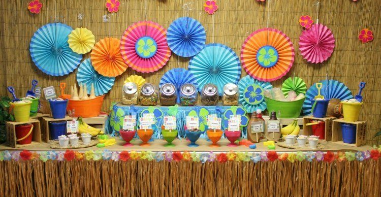 Deko Sommerfest décoration garden en 30 idées originales pour l été gardens