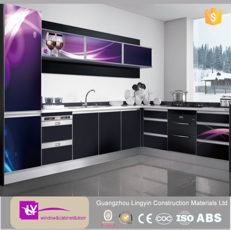 Newest Effects 3d Modern Kitchen Cabinets With High Quality Kitchen ...