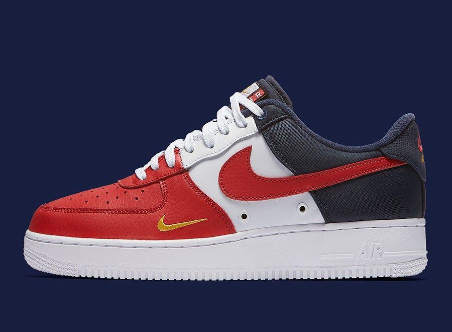 span itempropnameMens Nike Air Force 1 High Supreme SP CrimsonWhitespan