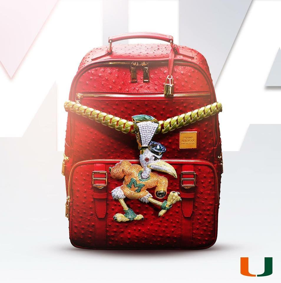 NCAA Miami Hurricanes Team Backpack