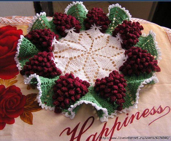 Todo para crear centro de mesa en crochet crochet - Centros de mesa de ganchillo ...