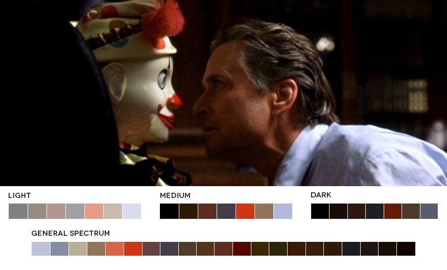 The Game, 1997 Cinematography Harris Savides Movies in