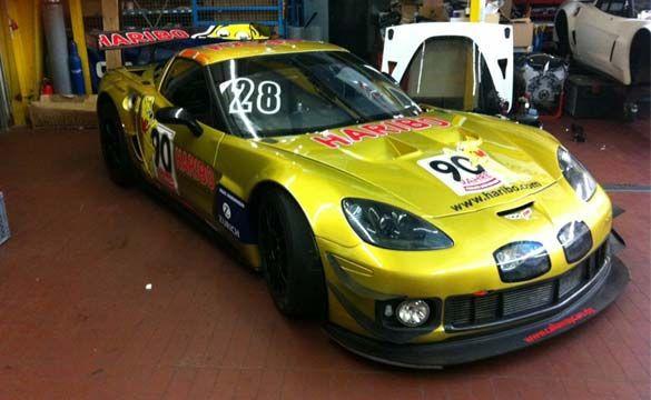 Callaway Z06 In The Nurburgring 24 Corvette Vette Racing