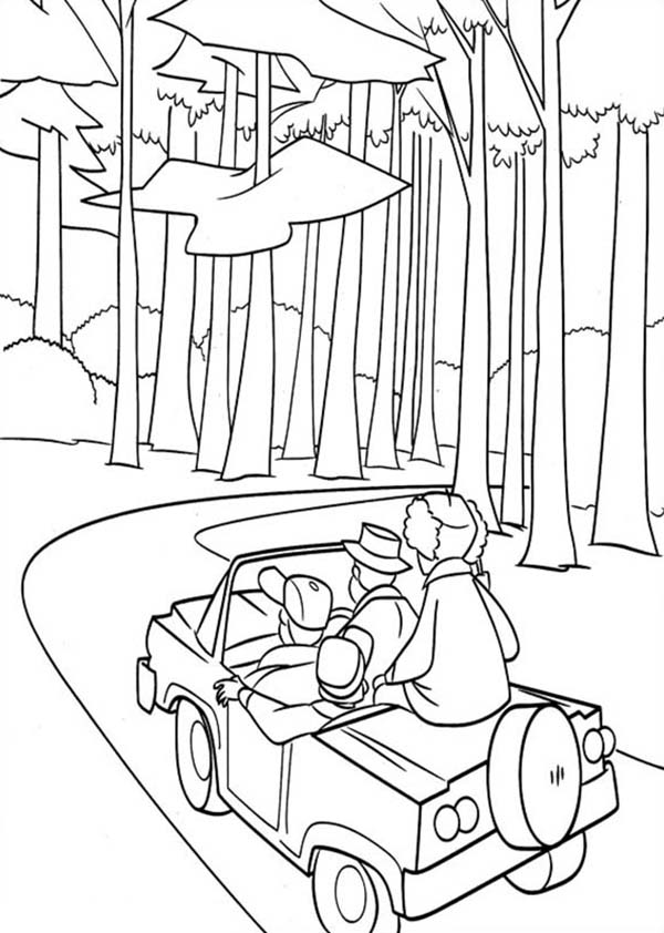 Adventure In Timber National Forest In Open Season Coloring Pages Bulk Color Seasons Coloring Pages Coloring Pages Open Season