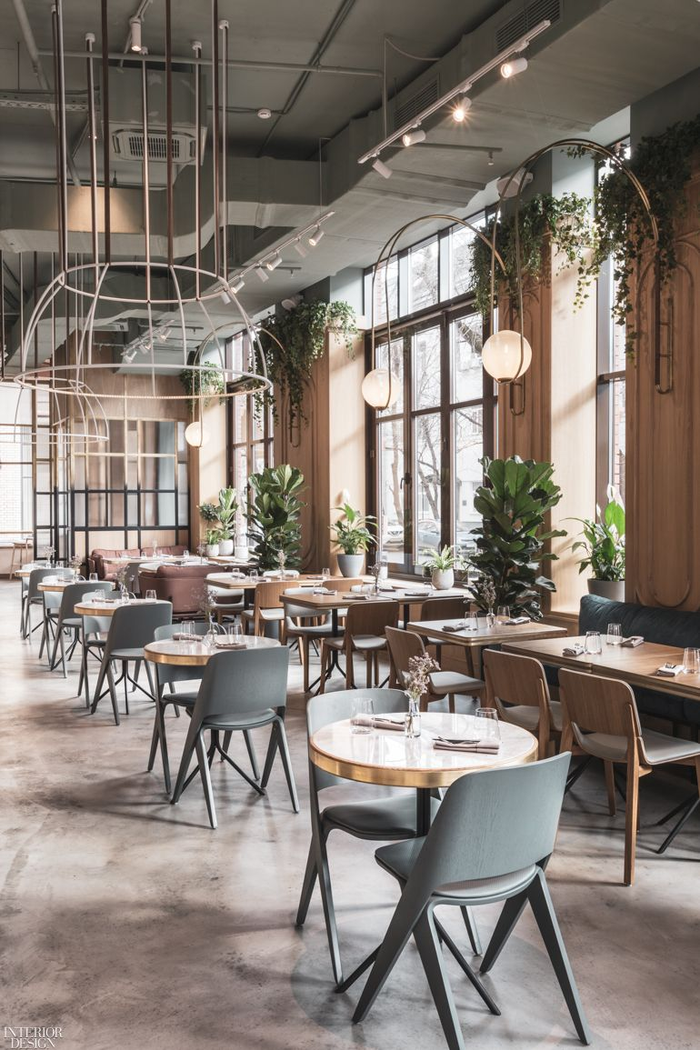 Asthetique Designed The Y In Moscow Is Ready Made For Millennials Restaurant Interior Design Modern Restaurant Cafe Interior Design