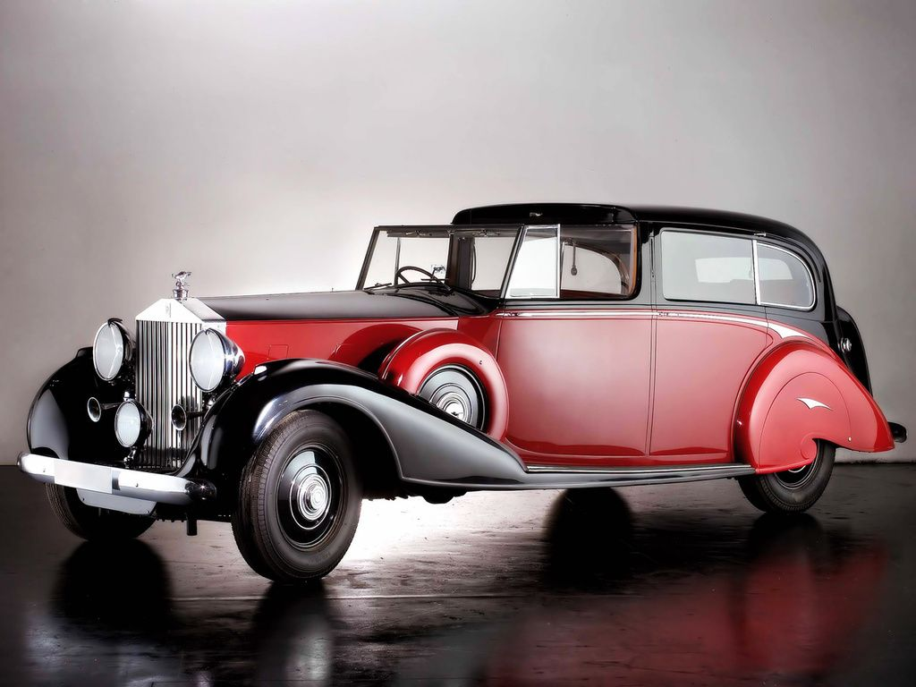 Rolls Royce Phantom Iii Sedanca De Ville By Park Ward 1940 Avec