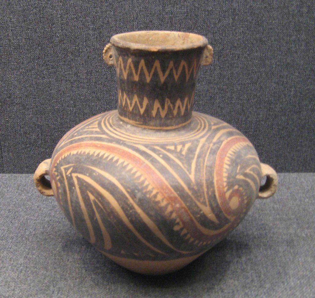 Painted pottery jug from the banshan phase circa 2700 bc to painted pottery jug from the banshan phase circa 2700 bc to 2300 bc reviewsmspy