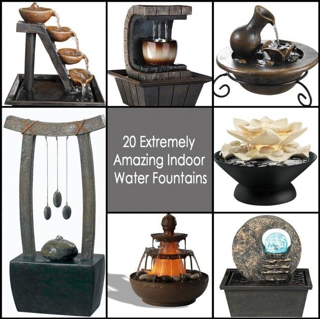 How To Integrate Interior Wall Fountains In Your Home: 20 Extremely Amazing Indoor Water Fountains