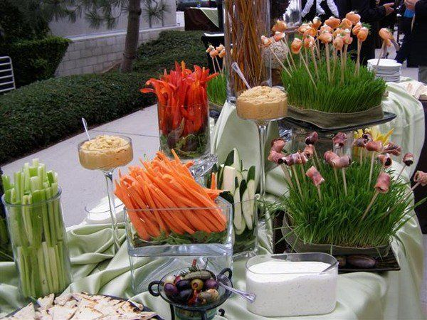 how to arrange buffet table festive table decoration ideas party food ideas