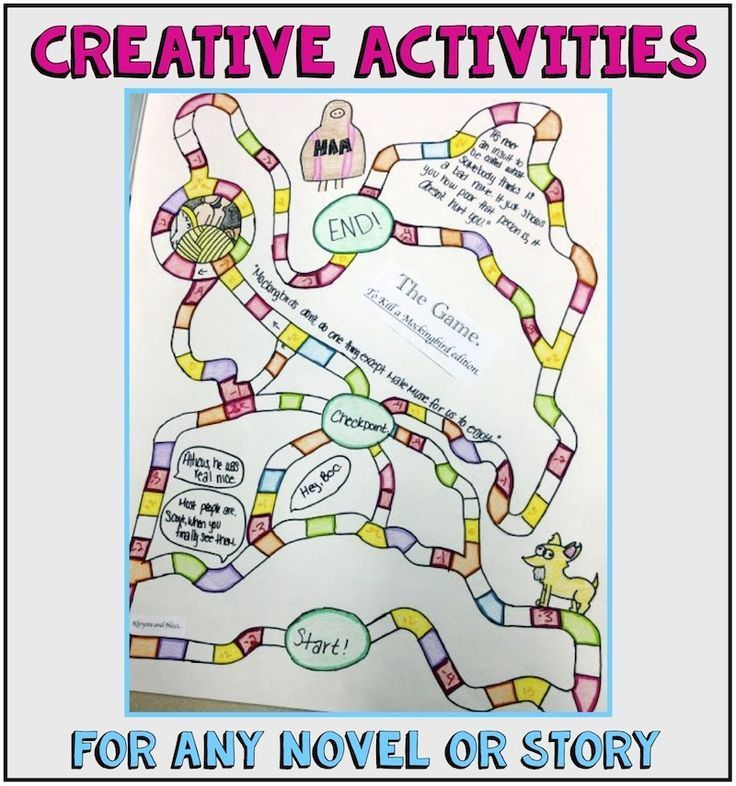 Creative Activities for ANY Novel or Short Story with Handouts - cereal box book report sample