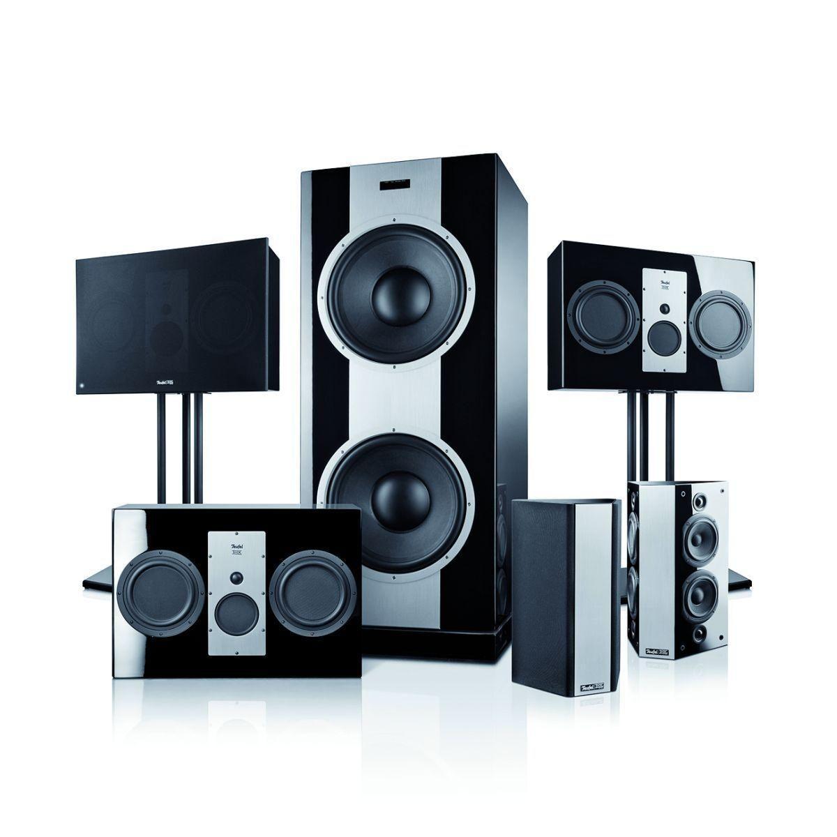Teufel Speaker System 10 Thx Ultra 2 Certified Cinema 5 1 World S Smallest Thx Ultra 2 Certified System Best Home Theater System Sound System Mind Blown