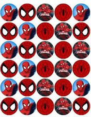 image about Free Printable Cupcake Wrappers and Toppers With Spiderman referred to as Pin upon Kian