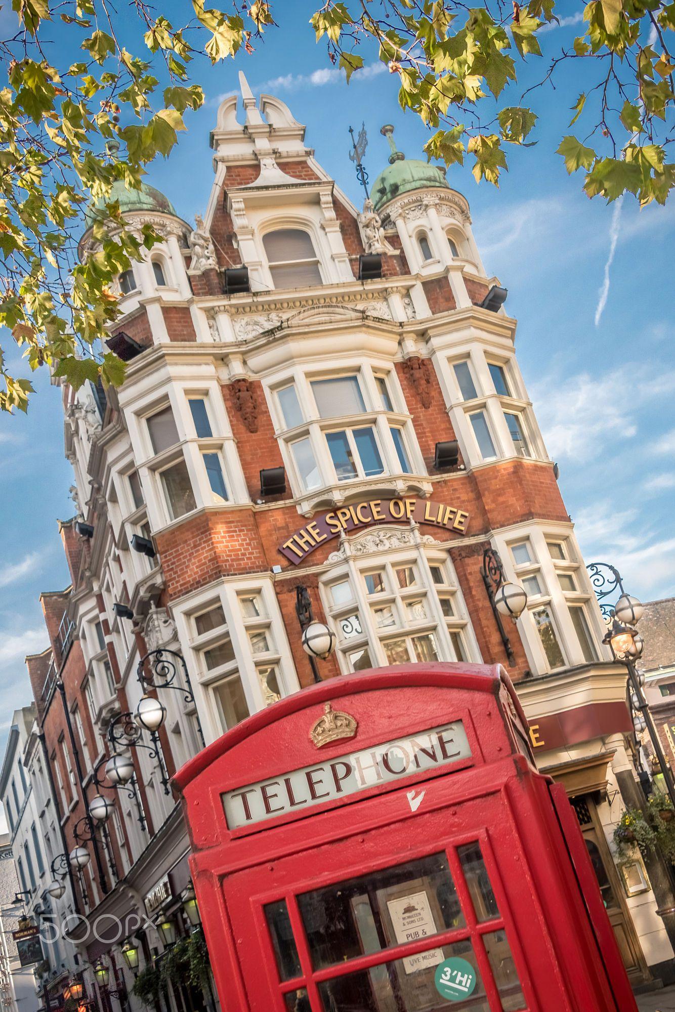 Spice of Life Pub, London, England