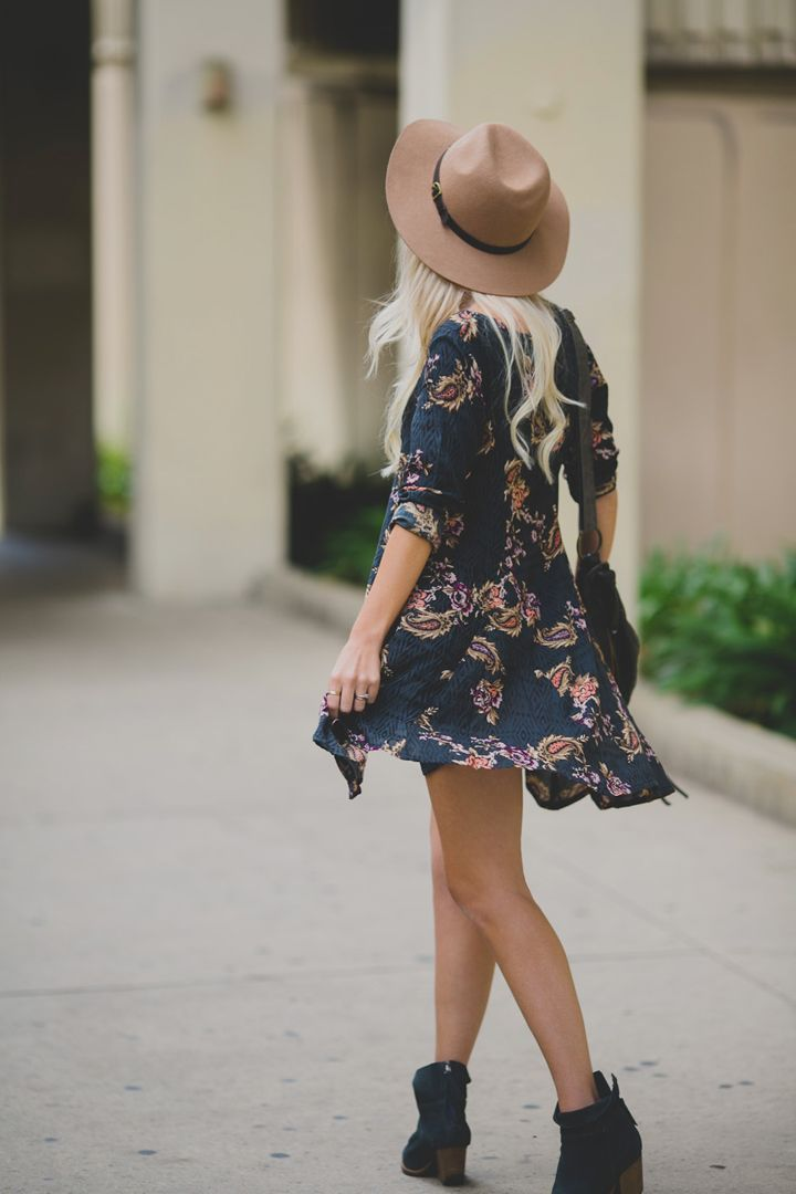 Yest again that boho style in dresses.