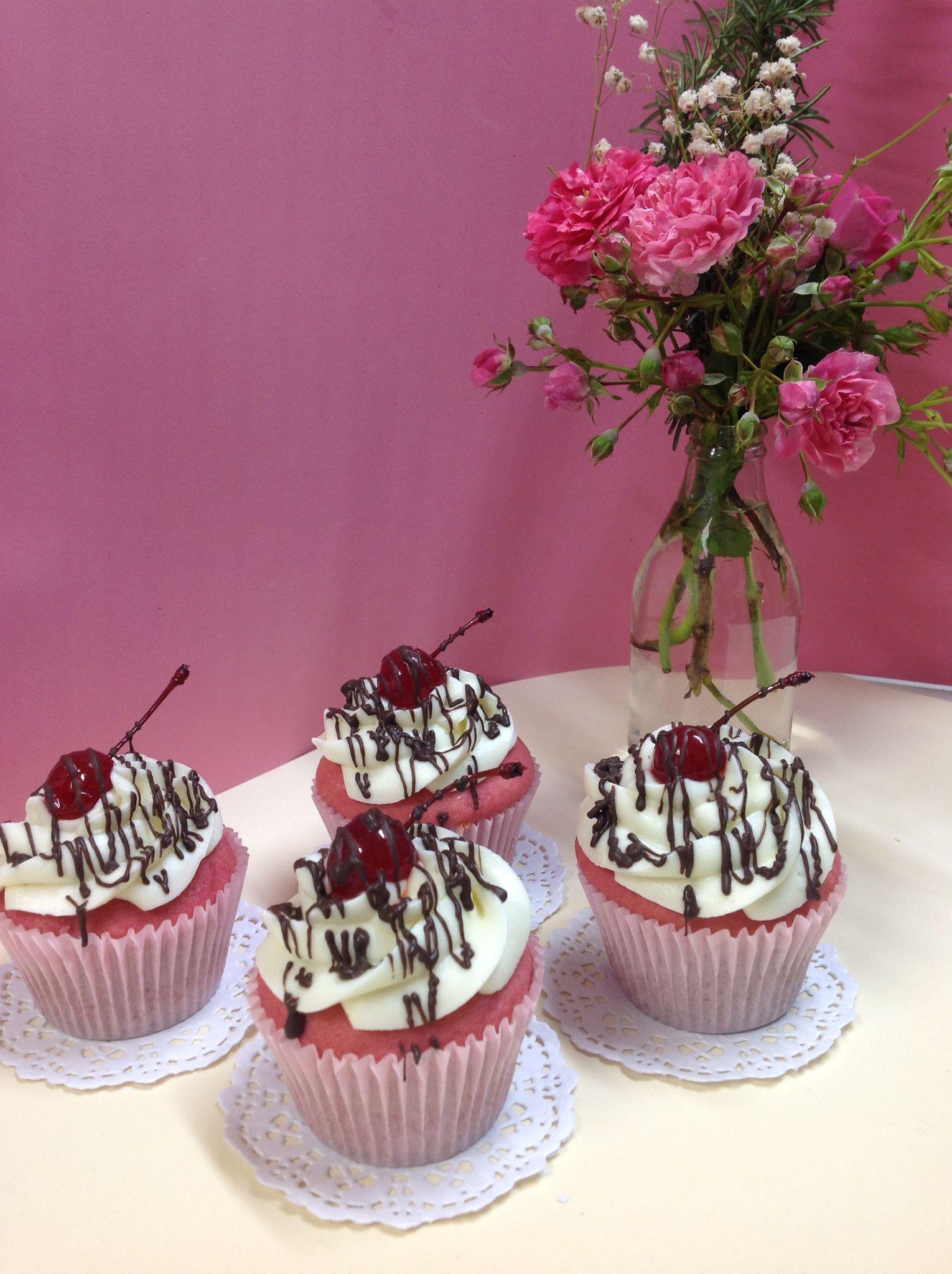 Cupcake de Cereja!