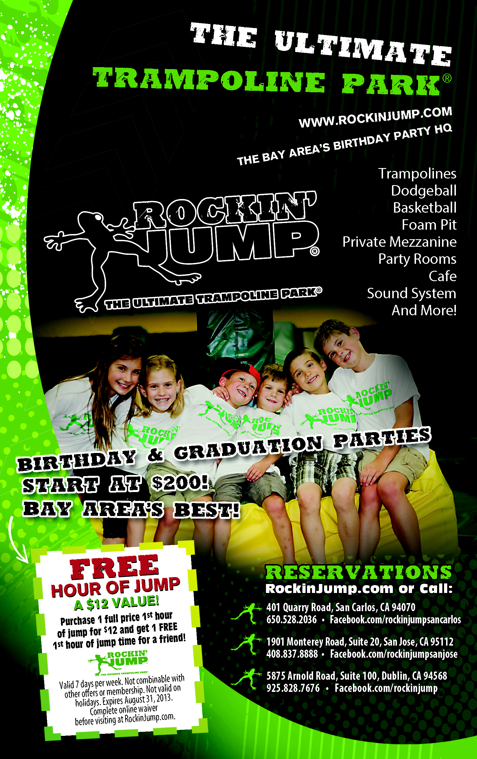 Rockin Jump Is definitely The Ultimate Place for having