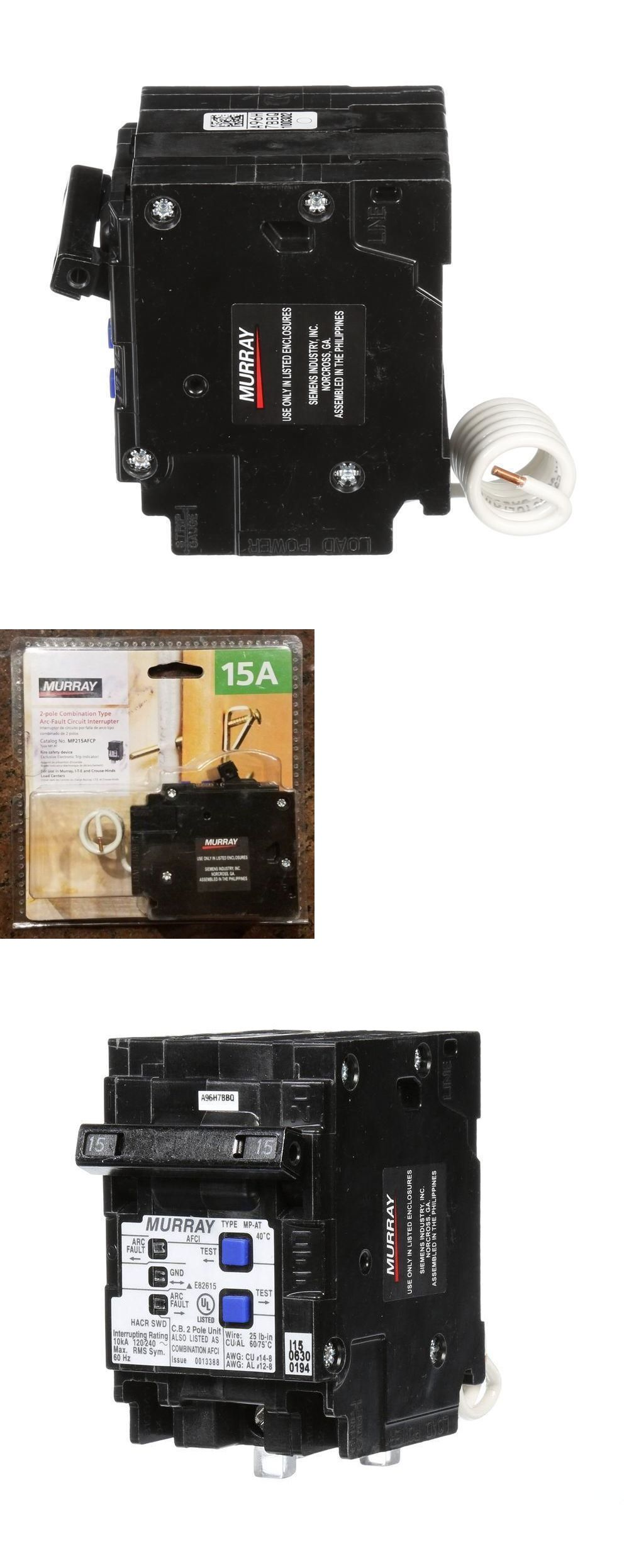 Circuit Breakers and Fuse Boxes 20596: Murray 15 Amp Double-Pole Type Mp-