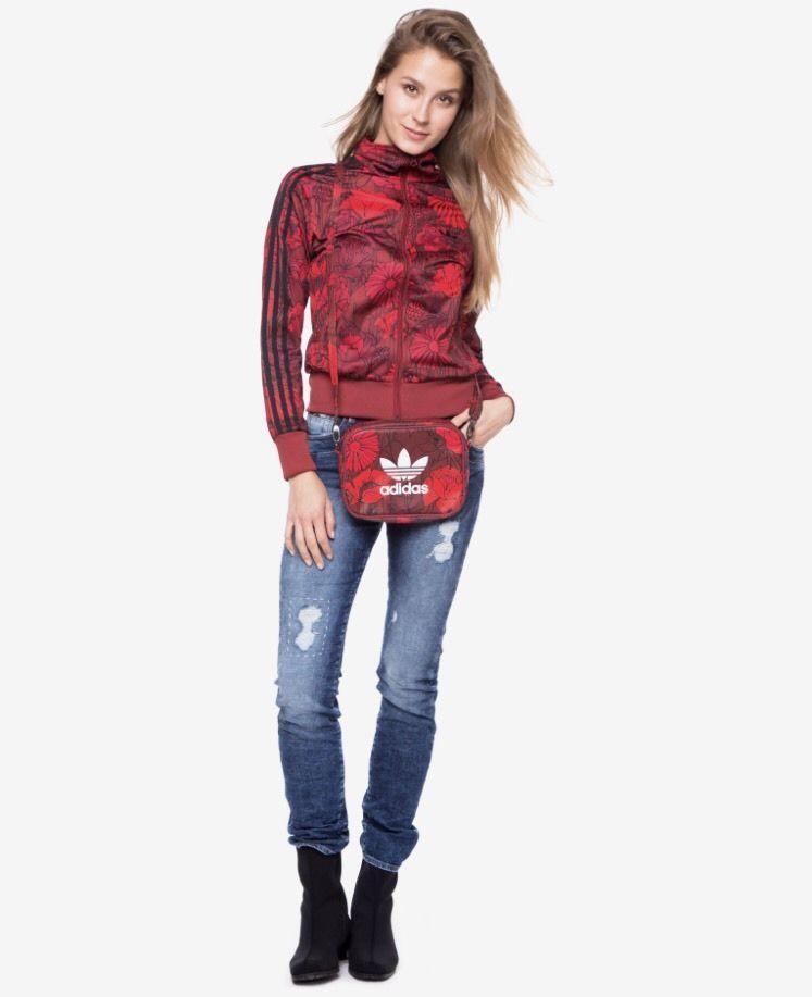 c90e1697db84 Adidas Originals Red Bags - Women s Airliner Clutch Shoulder Strap Cross  Body