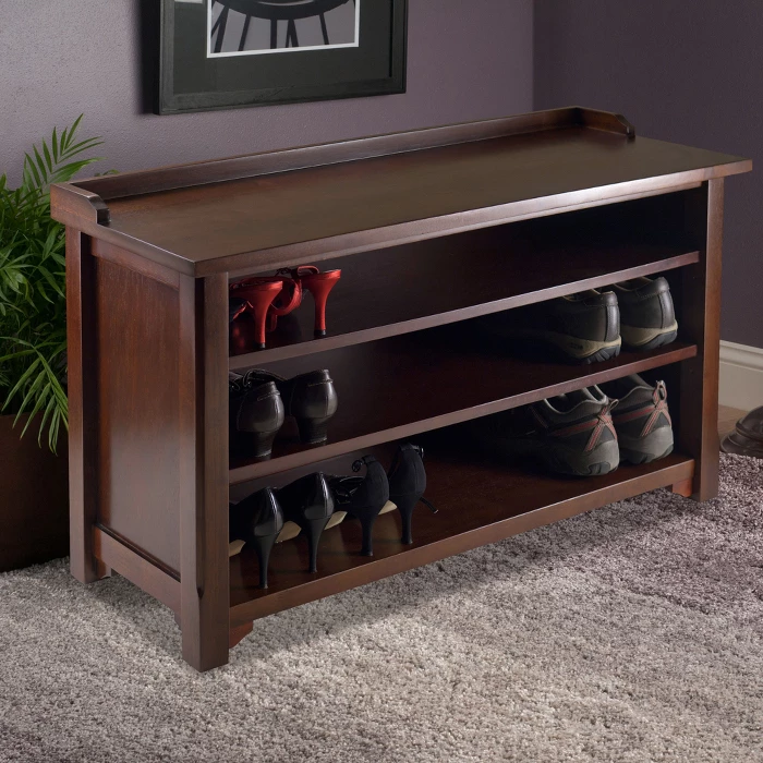 Dayton Entry Storage Bench Winsome Entry Storage Bench Bench With Shoe Storage Shoe Storage Bench Entryway