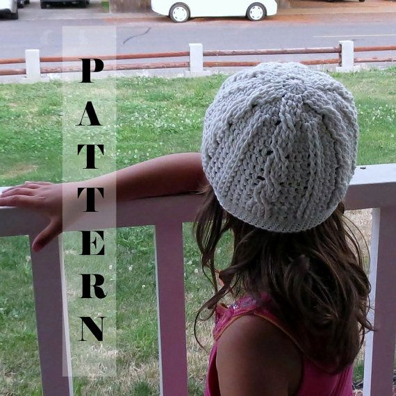 Crochet Pattern Class Cable Cloche or Slouchy by PlayingWithFiber, $4.99