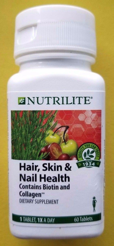 Amway Nutrilite Hair Skin Nail Health A7553 60 Tablets Nail