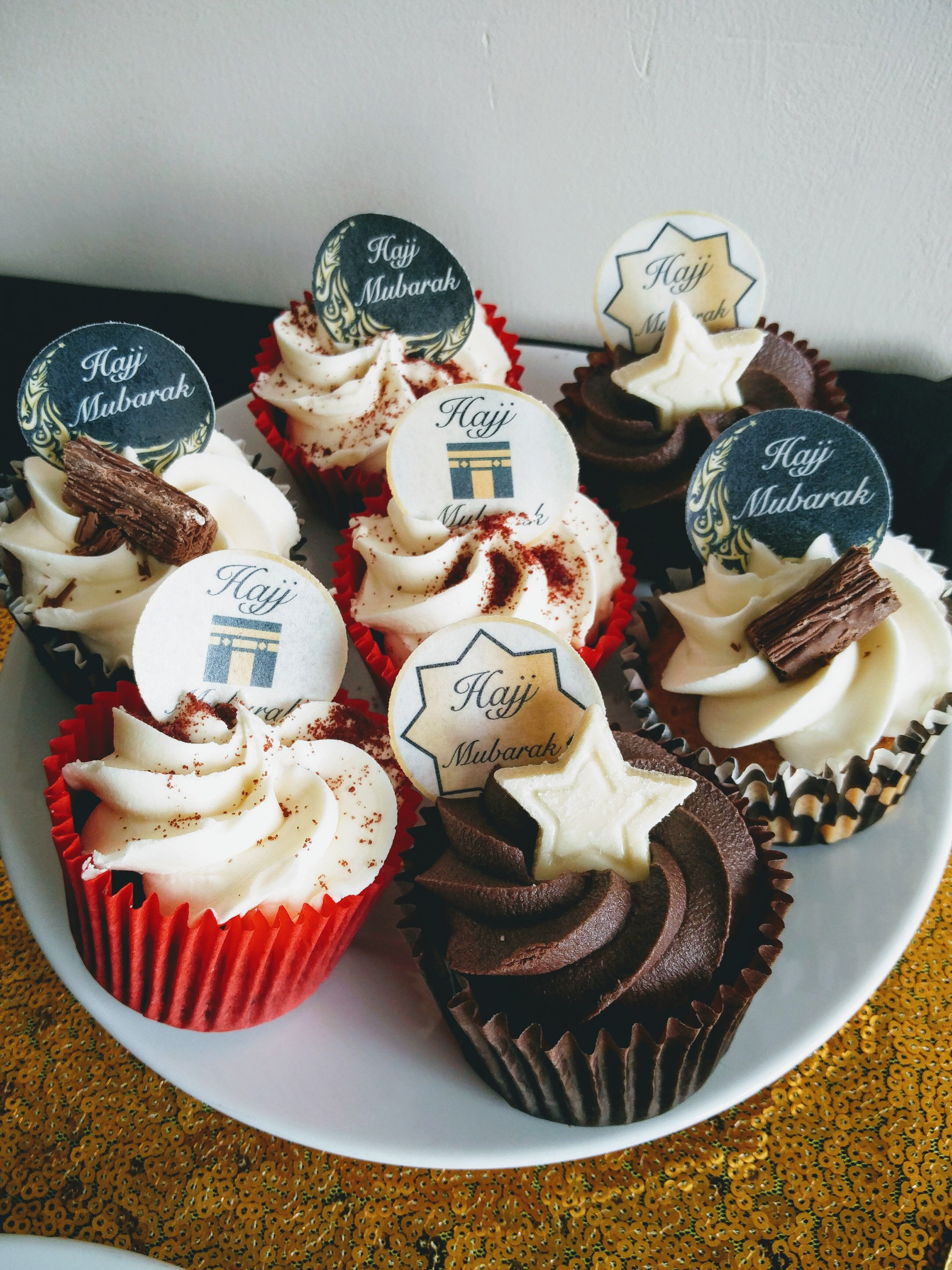 Home Furniture Diy Eid Mubarak Festival Muslim Edible Cupcake Toppers Wafer Or Icing X 12 Kisetsu System Co Jp