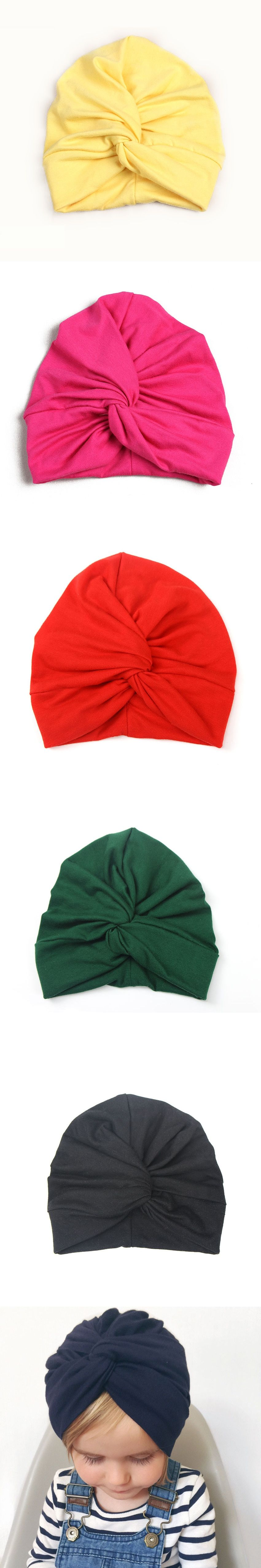 ef3d5bc60b2 New Bohemian Style Baby Cotton Indian Hat Blending Elastic Hat Children  kids beanie dome hats toddler