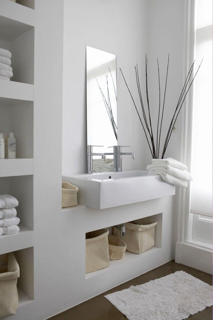 baños minimalistas Baños - Bathrooms Pinterest Mariana, Ideas