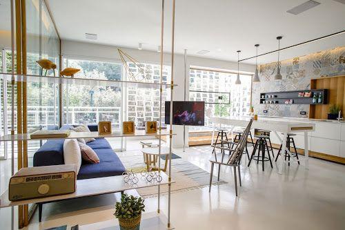 Design Hub - блог о дизайне интерьера и архитектуре: Красивая квартира в Израиле