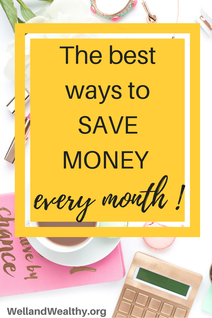 Watch How to Save Money Every Month video