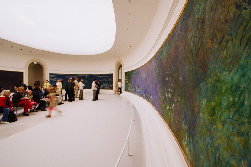 musee l'orangerie paris - monet's waterlilies http://janiceyiphotography.ca