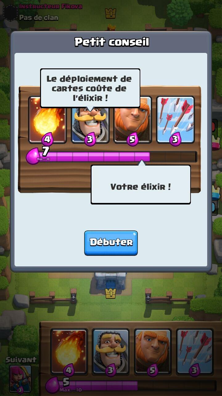 Screenshot clash royale android game tutorial taunt game ui screenshot clash royale android game tutorial baditri Choice Image