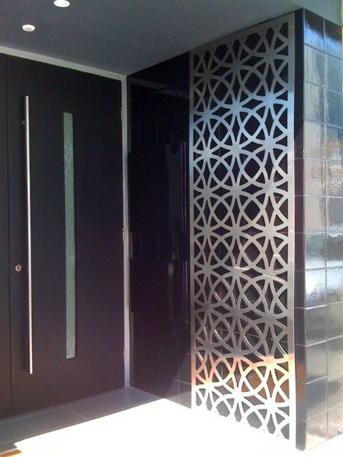 Screen for backyard feature wall perth based starting at for Decorative privacy screen