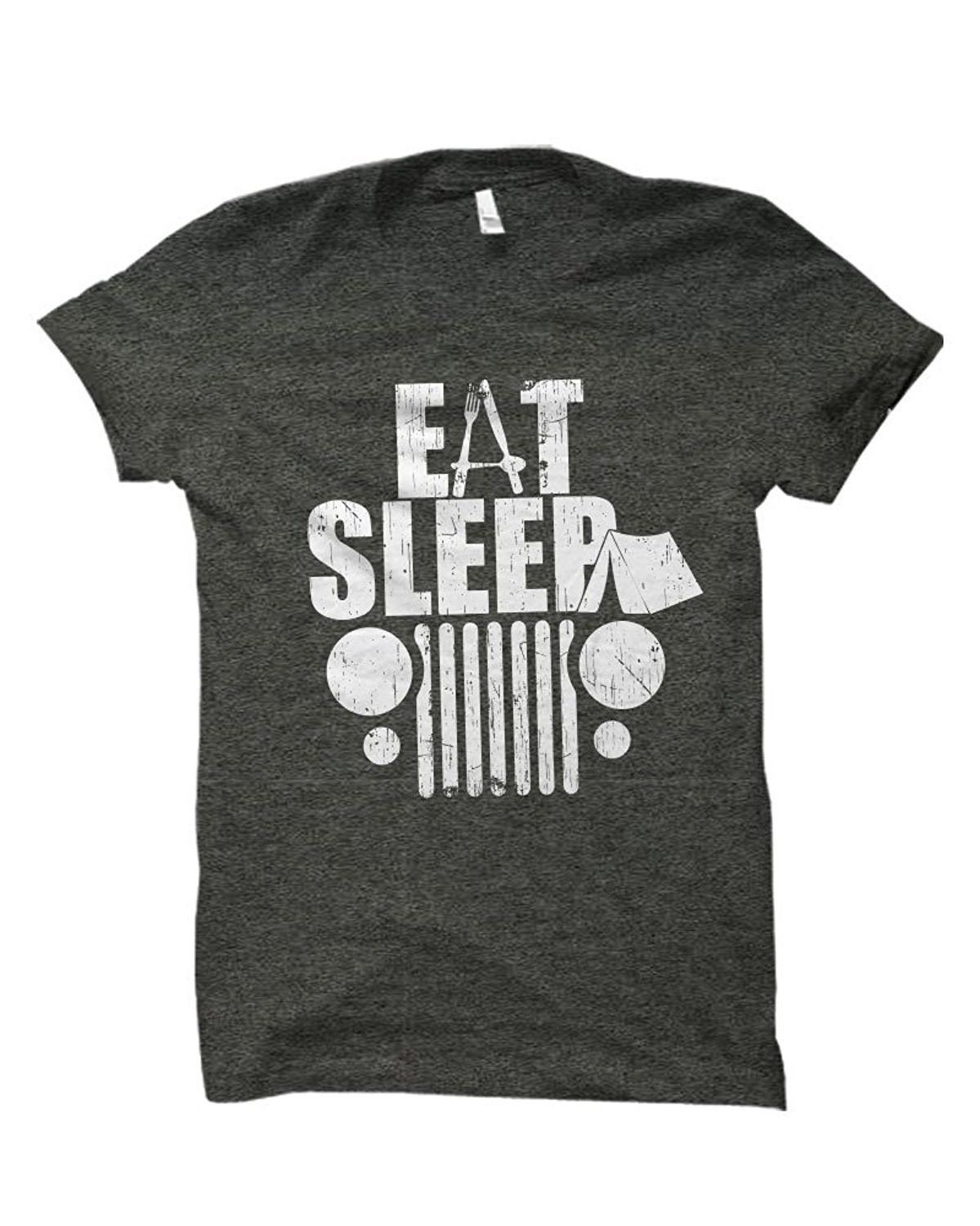 577afe11bb Men's Clothing, T-Shirts & Tanks, T-Shirts, Eat Sleep 4x4 Off Road Life  Adult T-Shirt Distressed Vintage - Dark Heather Grey - CA12HXDYXXX #TShirts  #Tanks ...