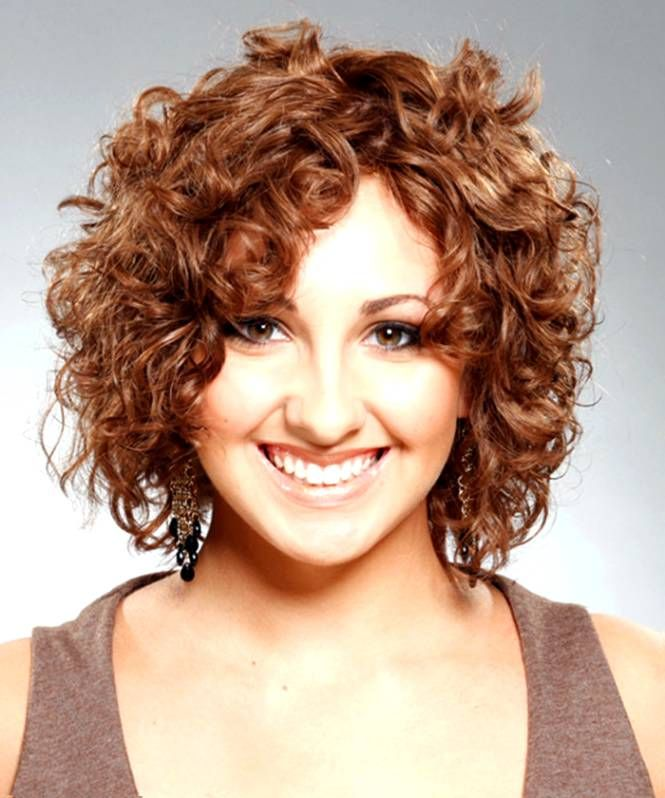 Short Hairstyles For Fat Faces And Curly Hair Best Hairstyles 2017