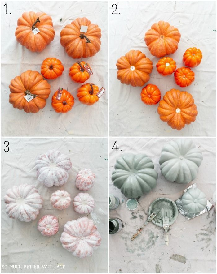Photo of Painting Pumpkins in Muted Colors + Video | So Much Better With Age