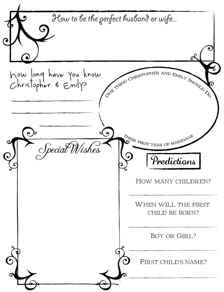graphic relating to Printable Guest Book named Pin by way of Elizabeth Burkes upon DYI Printable Wedding day Visitor E-book