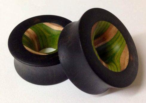 Choose Your Wood Plugs 3 4 2 Inlay Plugs Gauges Plugs Earrings Wood Plugs Gauges Piercing