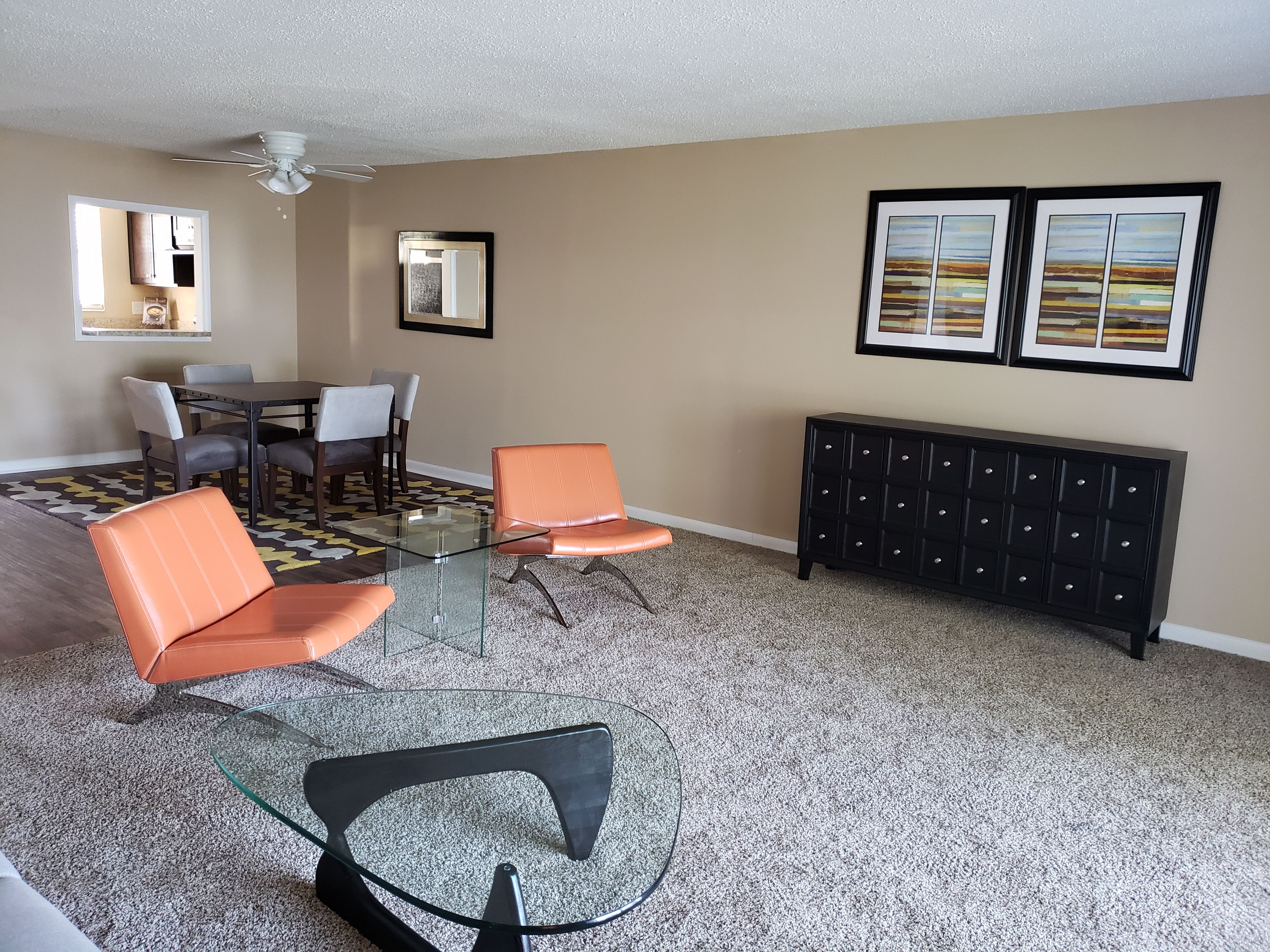 Modern Furniture Makes This Living Room Pop At Heritage On The