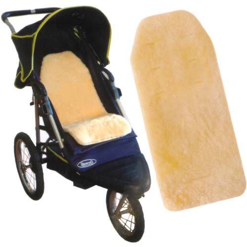 Australian Luxurious Sheepskin Stroller-liners