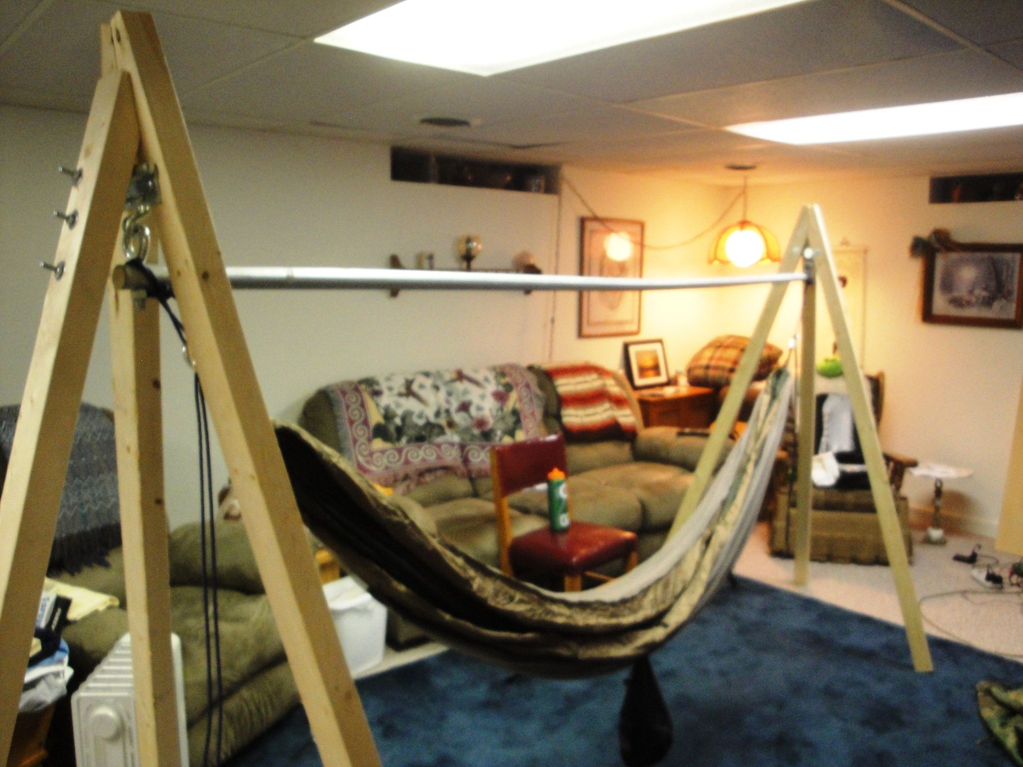 Turtle dog hammock stand camping ideas pinterest