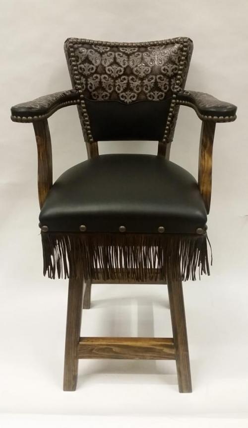 Swivel Bar Chair Leather Bar Stools Amp Bar Seating