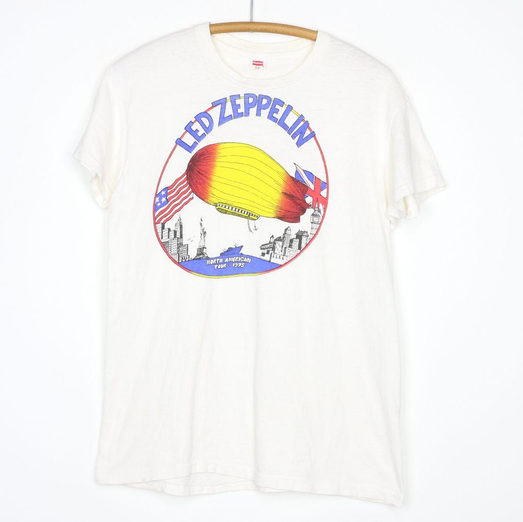 Led Zeppelin North American Tour Shirt 1975 Tour Shirt Zeppelin Led Zeppelin