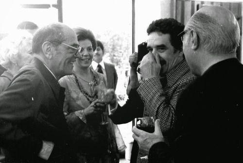 Luis Buñuel and Gabriel García Márquez.