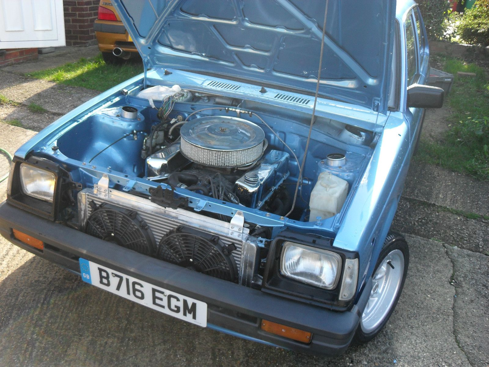 Gentil Toyota Starlet KP60 With 4.0L Range Rover Carbu0027d V8 On EBay