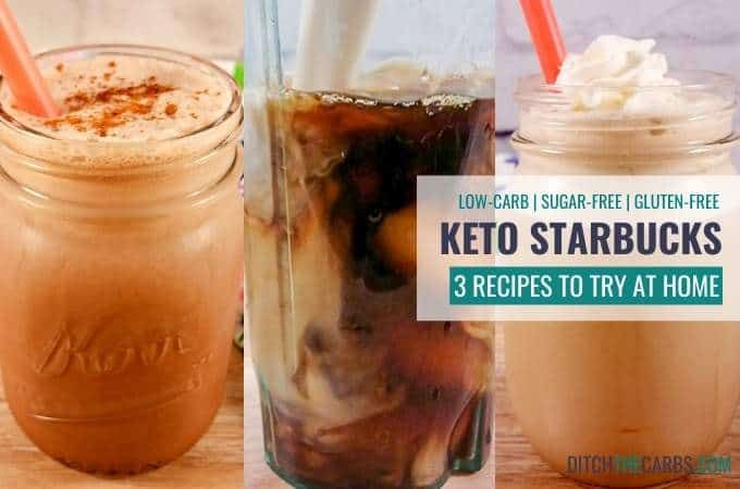 3 Keto Starbucks Recipes to Try at Home + VIDEO - Save MONEY Stay KETO